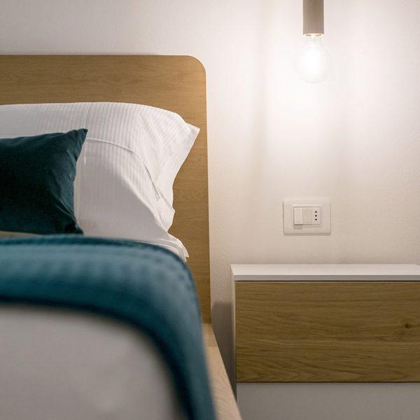 Appartamento Moraiolo - Bedroom - Agritur GaiaSofia - Holiday Apartments - Lago di Garda