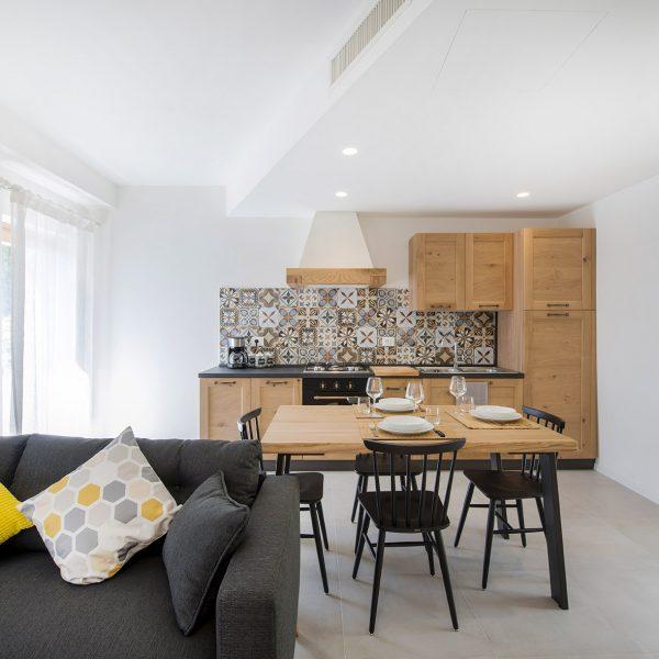 Appartamento Moraiolo - Cucina - Agritur GaiaSofia - Holiday Apartments - Lago di Garda